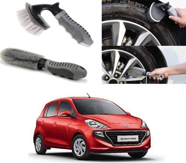 Ushergy Car tyre brush 2pcs CTB-13 2 Wheel Tire Cleaner