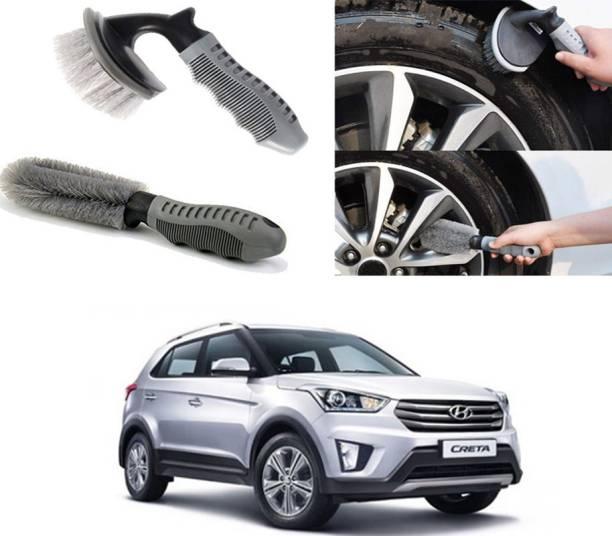 Ushergy Car tyre brush 2pcs CTB-442 2 Wheel Tire Cleaner