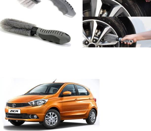 Ushergy Car tyre brush 2pcs CTB-318 2 Wheel Tire Cleaner