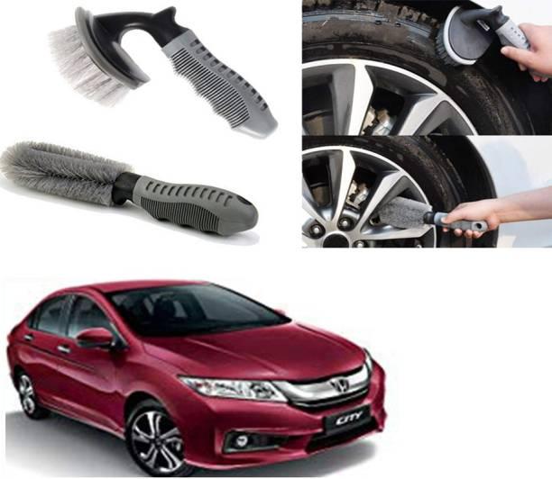 Ushergy Car tyre brush 2pcs CTB-507 2 Wheel Tire Cleaner