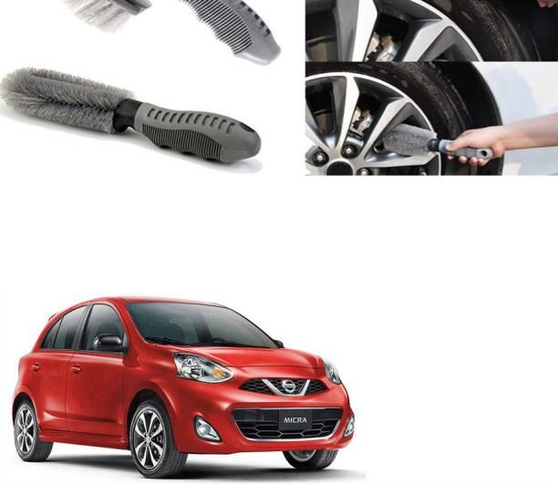 Ushergy Car tyre brush 2pcs CTB-225 2 Wheel Tire Cleaner