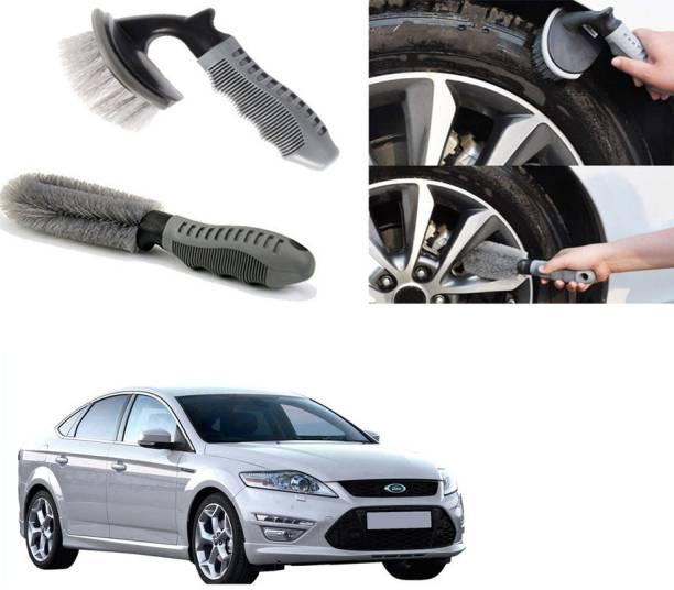 Ushergy Car tyre brush 2pcs CTB-490 2 Wheel Tire Cleaner