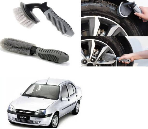 Ushergy Car tyre brush 2pcs CTB-489 2 Wheel Tire Cleaner