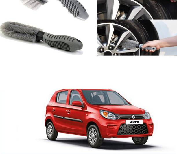 Ushergy Car tyre brush 2pcs CTB-112 2 Wheel Tire Cleaner