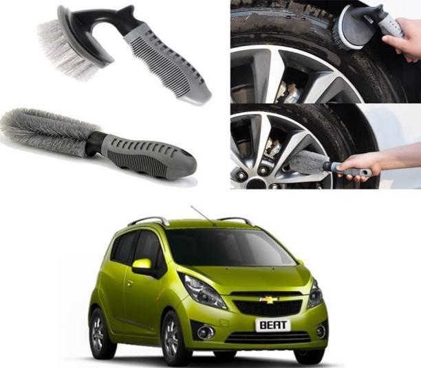 Ushergy Car tyre brush 2pcs CTB-223 2 Wheel Tire Cleaner