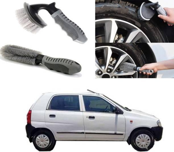 Ushergy Car tyre brush 2pcs CTB-483 2 Wheel Tire Cleaner