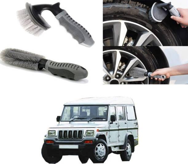 Ushergy Car tyre brush 2pcs CTB-436 2 Wheel Tire Cleaner