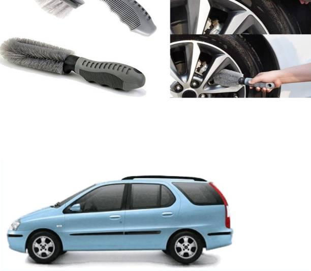 Ushergy Car tyre brush 2pcs CTB-303 2 Wheel Tire Cleaner