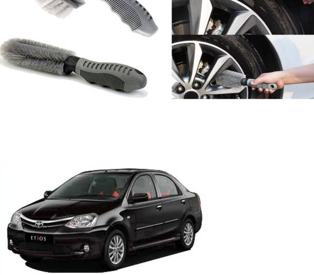 Ushergy Car tyre brush 2pcs CTB-328 2 Wheel Tire Cleaner