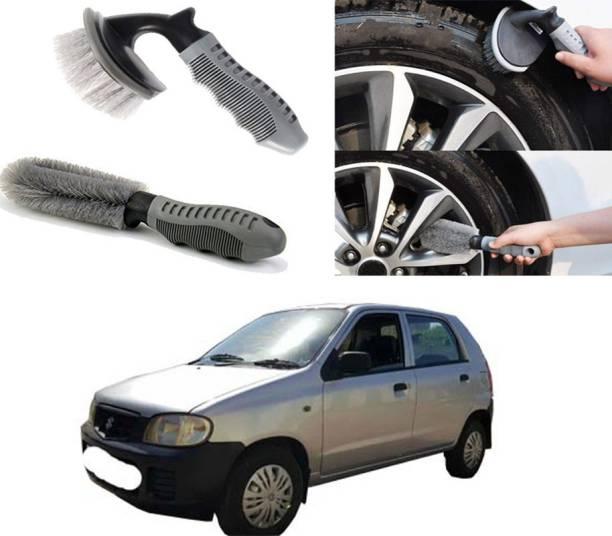 Ushergy Car tyre brush 2pcs CTB-420 2 Wheel Tire Cleaner