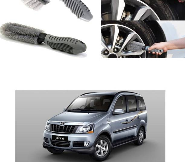 Ushergy Car tyre brush 2pcs CTB-413 2 Wheel Tire Cleaner