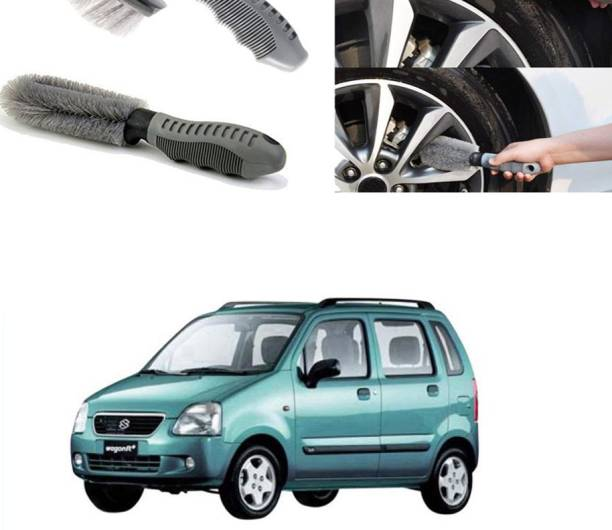 Ushergy Car tyre brush 2pcs CTB-393 2 Wheel Tire Cleaner