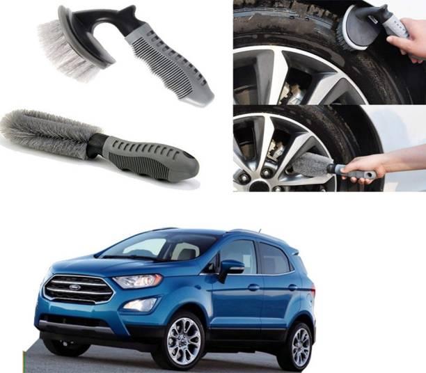 Ushergy Car tyre brush 2pcs CTB-100 2 Wheel Tire Cleaner