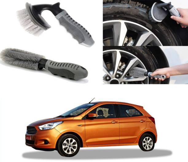 Ushergy Car tyre brush 2pcs CTB-387 2 Wheel Tire Cleaner