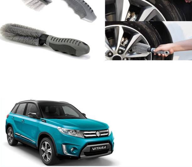 Ushergy Car tyre brush 2pcs CTB-130 2 Wheel Tire Cleaner