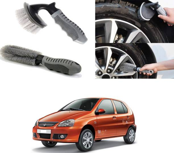 Ushergy Car tyre brush 2pcs CTB-38 2 Wheel Tire Cleaner