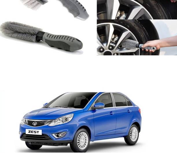Ushergy Car tyre brush 2pcs CTB-317 2 Wheel Tire Cleaner