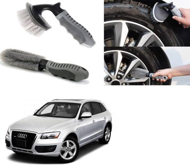 Ushergy Car tyre brush 2pcs CTB-65 2 Wheel Tire Cleaner