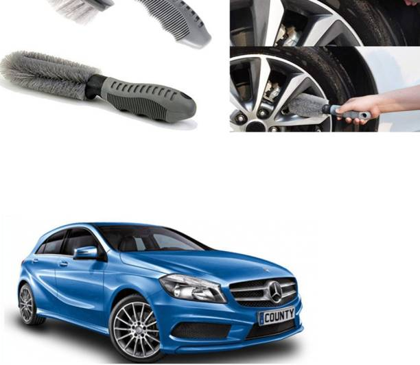 Ushergy Car tyre brush 2pcs CTB-185 2 Wheel Tire Cleaner