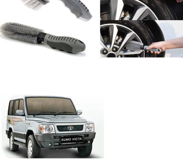 Ushergy Car tyre brush 2pcs CTB-313 2 Wheel Tire Cleaner