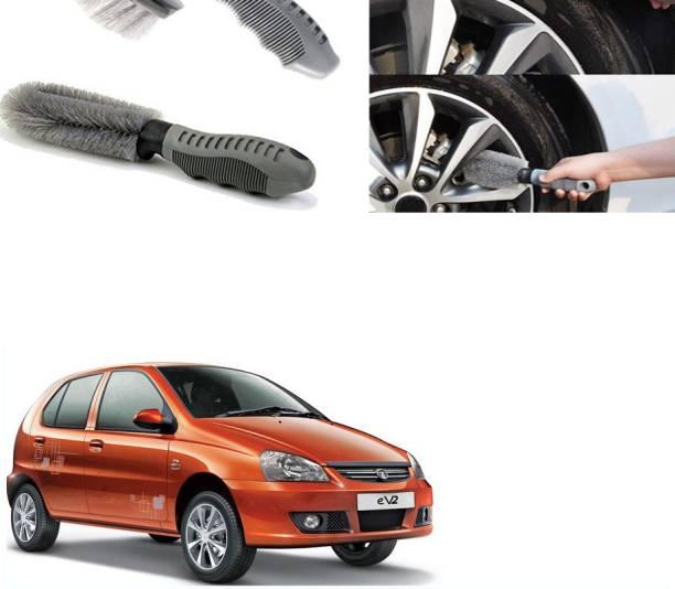 Ushergy Car tyre brush 2pcs CTB-299 2 Wheel Tire Cleaner