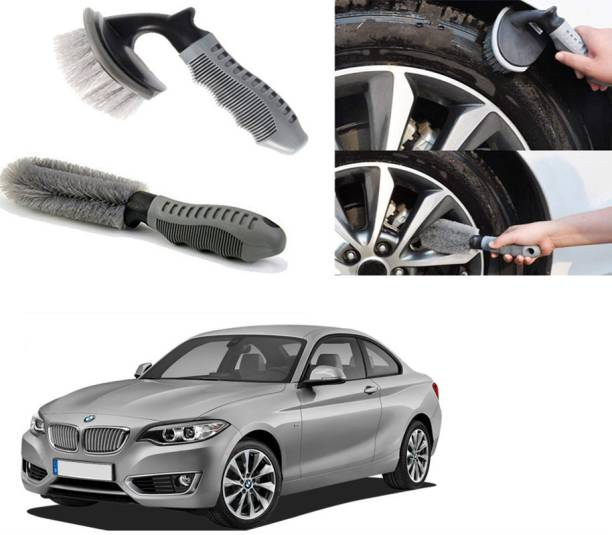 Ushergy Car tyre brush 2pcs CTB-284 2 Wheel Tire Cleaner