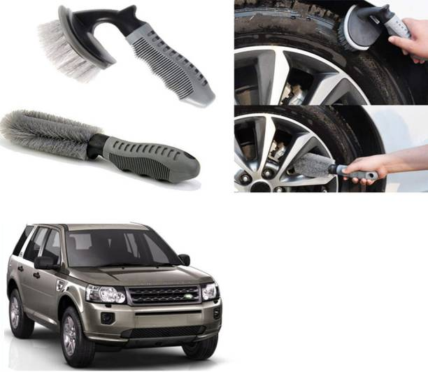 Ushergy Car tyre brush 2pcs CTB-72 2 Wheel Tire Cleaner