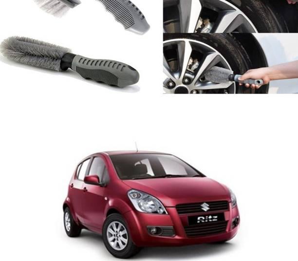 Ushergy Car tyre brush 2pcs CTB-252 2 Wheel Tire Cleaner