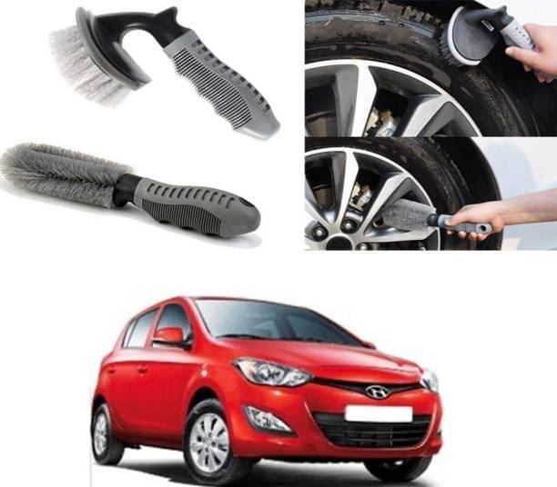 Ushergy Car tyre brush 2pcs CTB-36 2 Wheel Tire Cleaner