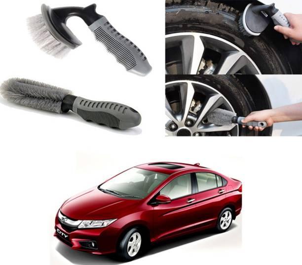 Ushergy Car tyre brush 2pcs CTB-509 2 Wheel Tire Cleaner