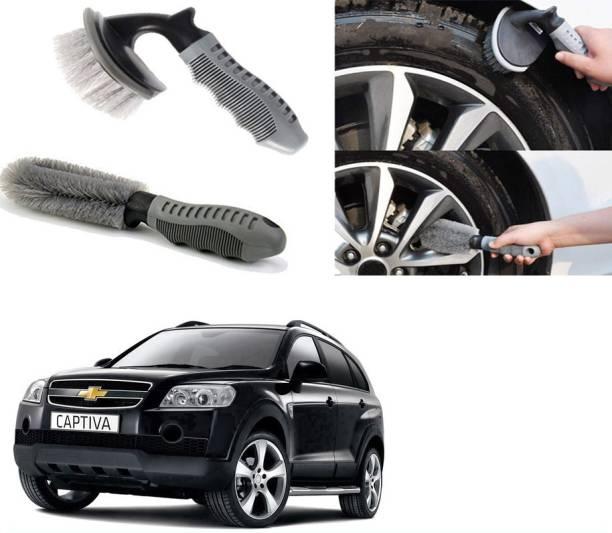 Ushergy Car tyre brush 2pcs CTB-450 2 Wheel Tire Cleaner