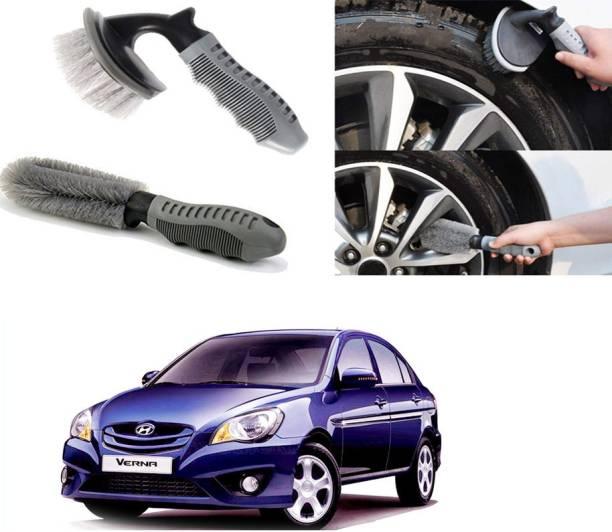 Ushergy Car tyre brush 2pcs CTB-22 2 Wheel Tire Cleaner