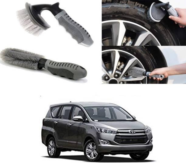 Ushergy Car tyre brush 2pcs CTB-48 2 Wheel Tire Cleaner