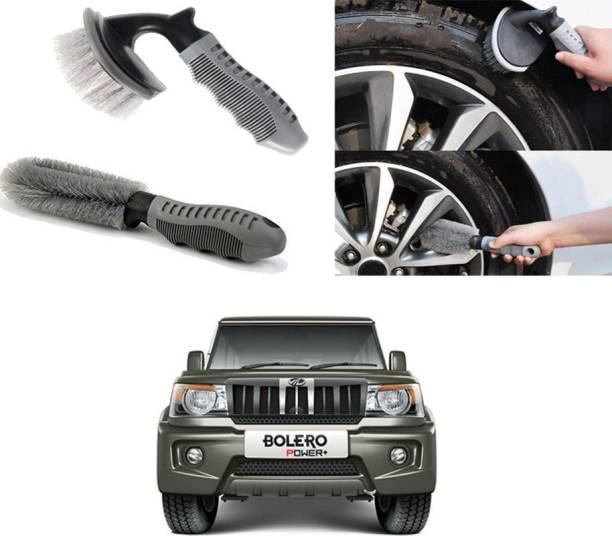 Ushergy Car tyre brush 2pcs CTB-433 2 Wheel Tire Cleaner