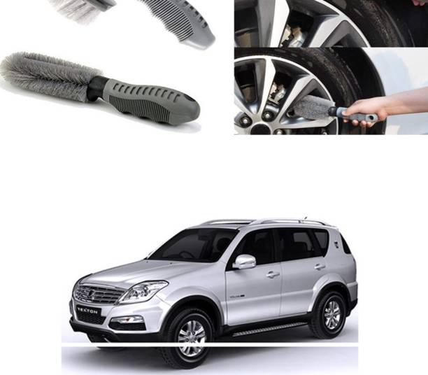 Ushergy Car tyre brush 2pcs CTB-91 2 Wheel Tire Cleaner