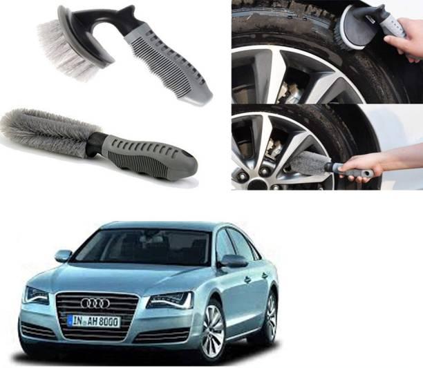 Ushergy Car tyre brush 2pcs CTB-102 2 Wheel Tire Cleaner