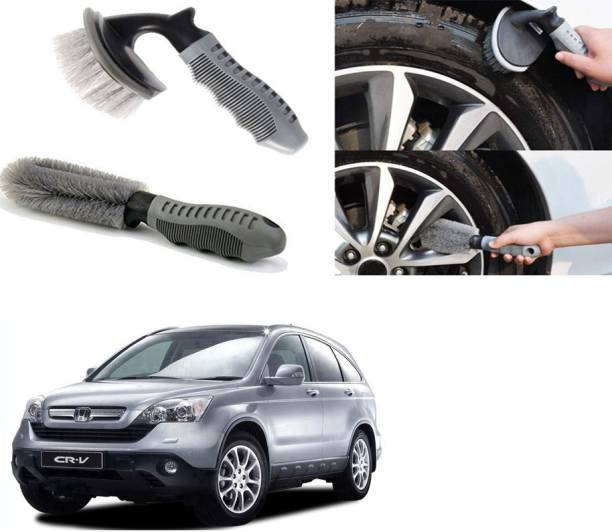 Ushergy Car tyre brush 2pcs CTB-513 2 Wheel Tire Cleaner