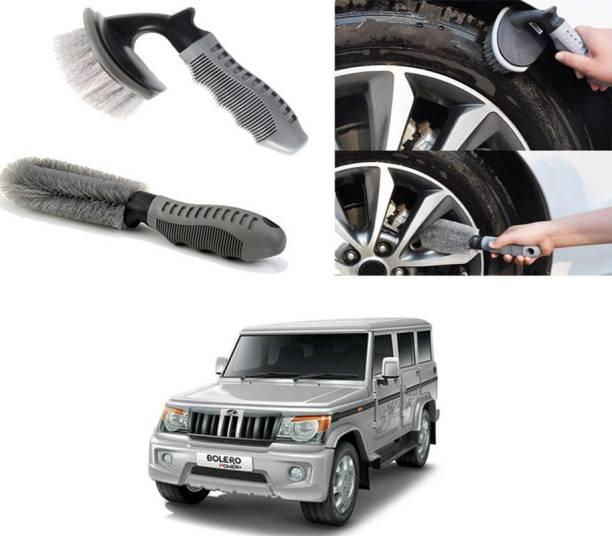 Ushergy Car tyre brush 2pcs CTB-438 2 Wheel Tire Cleaner