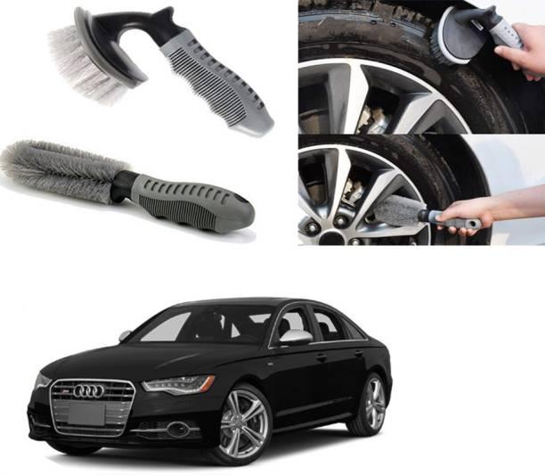 Ushergy Car tyre brush 2pcs CTB-150 2 Wheel Tire Cleaner