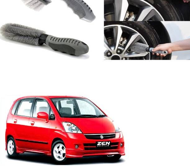 Ushergy Car tyre brush 2pcs CTB-158 2 Wheel Tire Cleaner