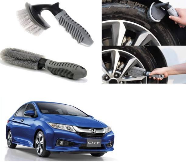 Ushergy Car tyre brush 2pcs CTB-518 2 Wheel Tire Cleaner