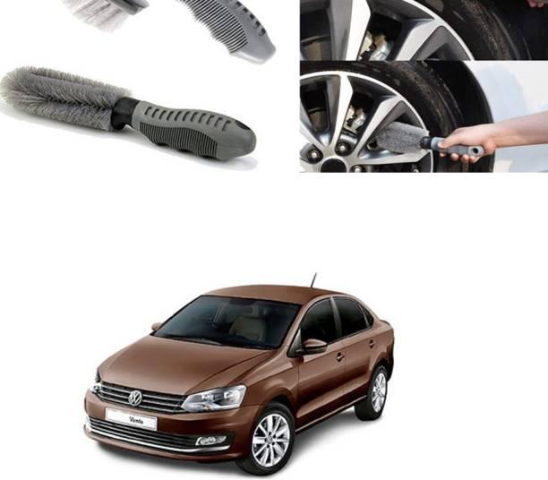 Ushergy Car tyre brush 2pcs CTB-357 2 Wheel Tire Cleaner