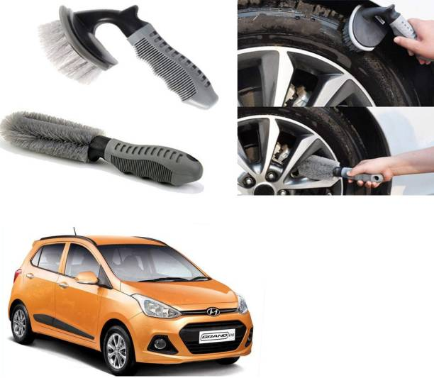 Ushergy Car tyre brush 2pcs CTB-2 2 Wheel Tire Cleaner
