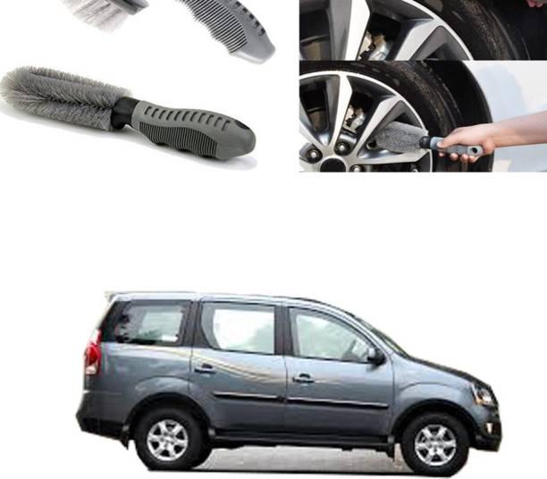 Ushergy Car tyre brush 2pcs CTB-415 2 Wheel Tire Cleaner