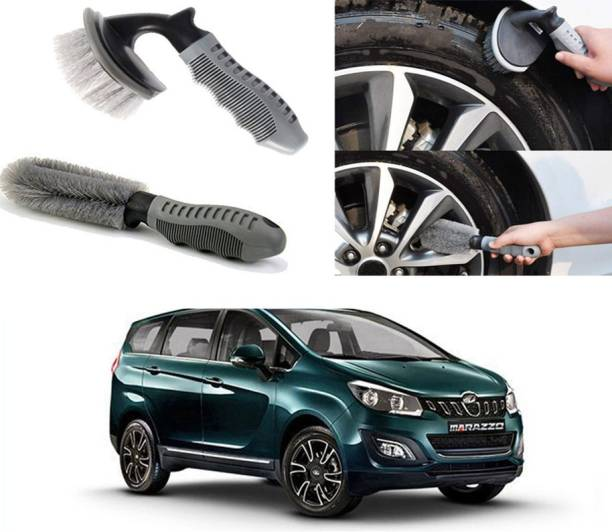 Ushergy Car tyre brush 2pcs CTB-85 2 Wheel Tire Cleaner