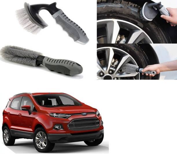 Ushergy Car tyre brush 2pcs CTB-431 2 Wheel Tire Cleaner