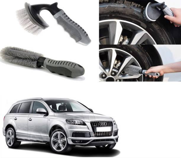 Ushergy Car tyre brush 2pcs CTB-90 2 Wheel Tire Cleaner