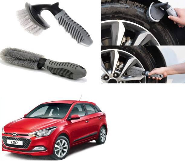 Ushergy Car tyre brush 2pcs CTB-7 2 Wheel Tire Cleaner