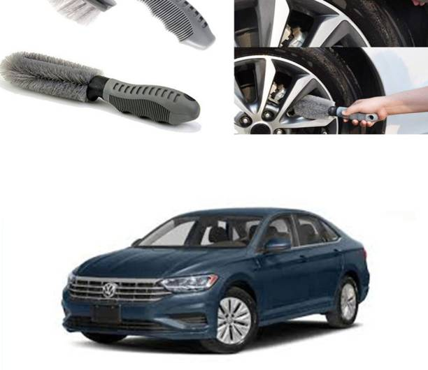 Ushergy Car tyre brush 2pcs CTB-373 2 Wheel Tire Cleaner
