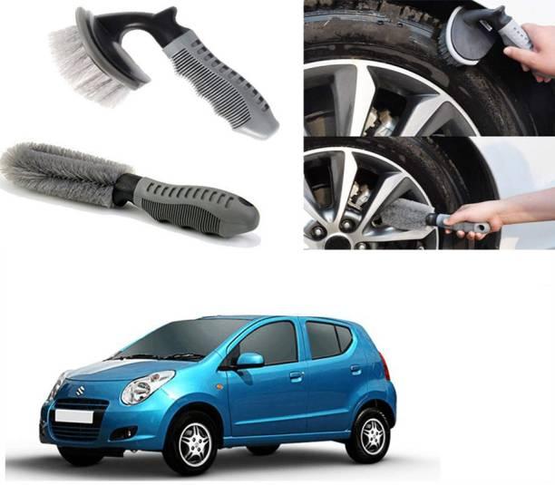 Ushergy Car tyre brush 2pcs CTB-259 2 Wheel Tire Cleaner